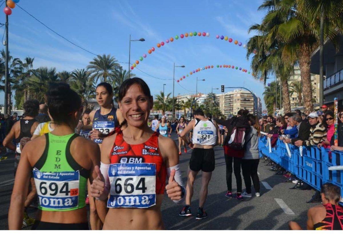 Azucena Díaz sustituye a Paula González para el Maratón en los Juegos