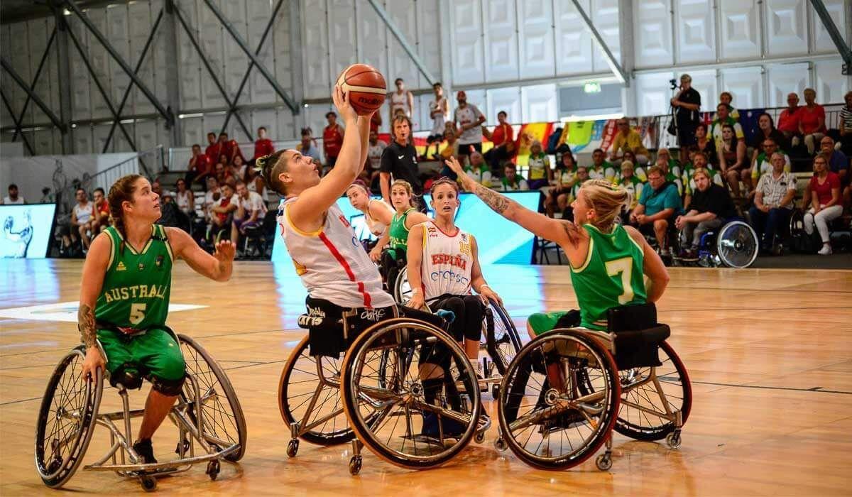 baloncesto en silla