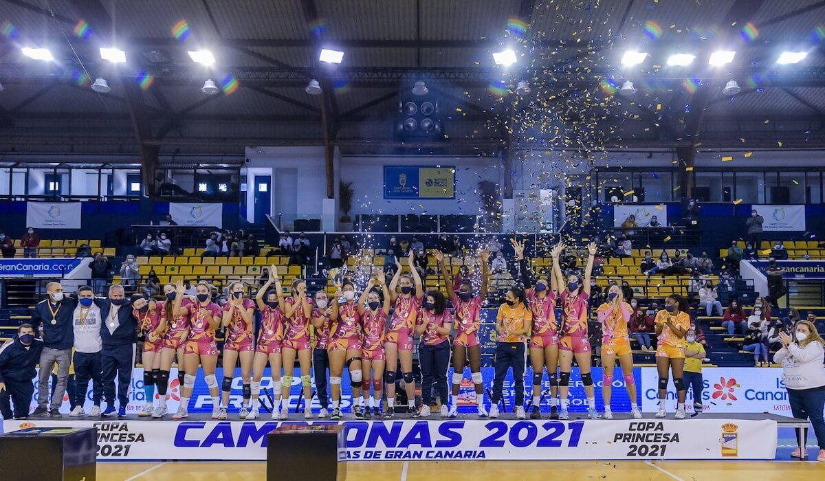 El CV CCO 7 Palmas se adjudica la Copa Princesa de voleibol