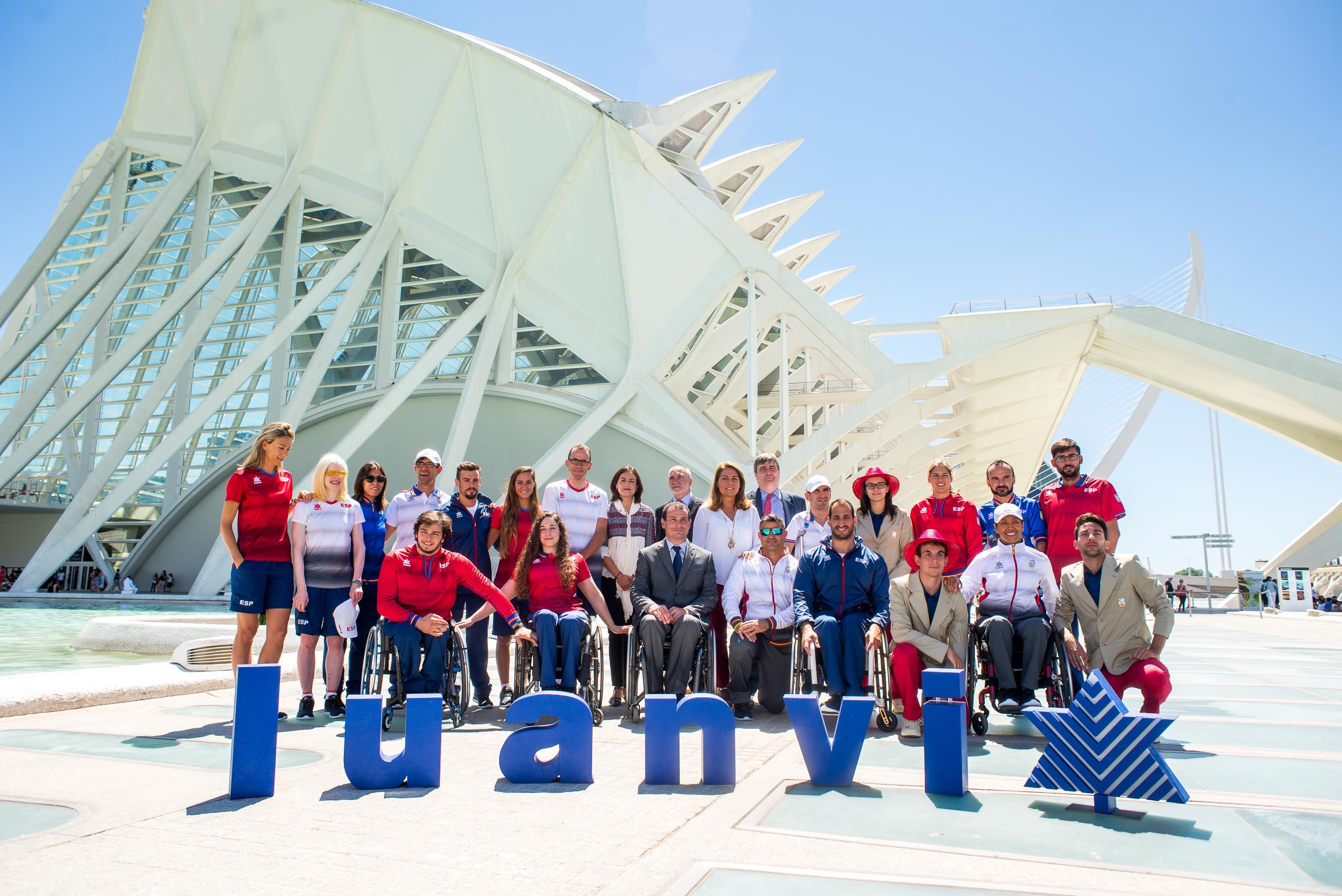 La excelente percha del equipo paralímpico español