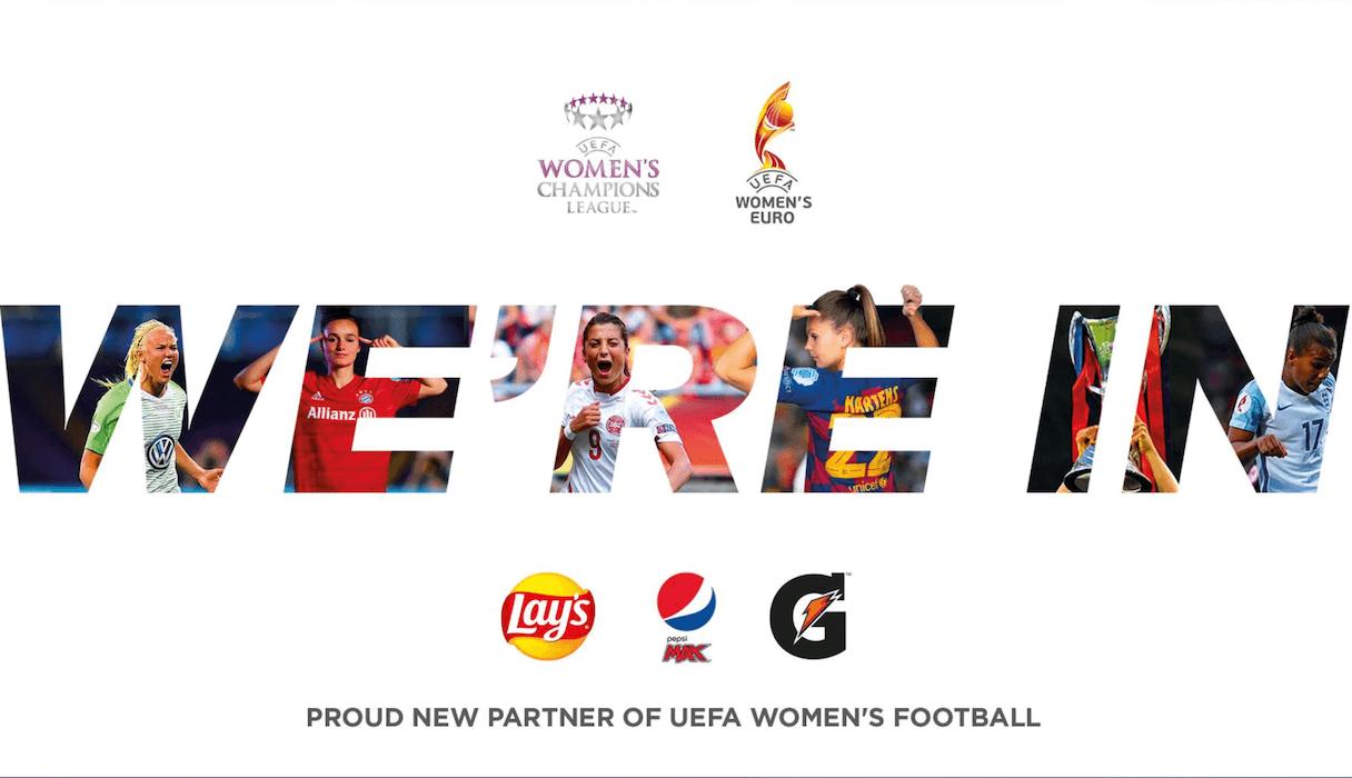 PEPSICO UEFA FUTBOL FEMENINO