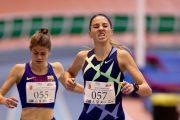 Lucía Rodríguez, Águeda Muñoz, atletismo