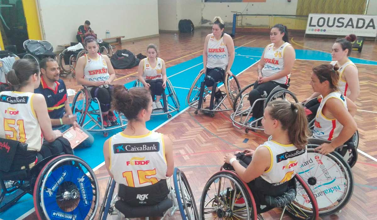 baloncesto en silla de ruedas