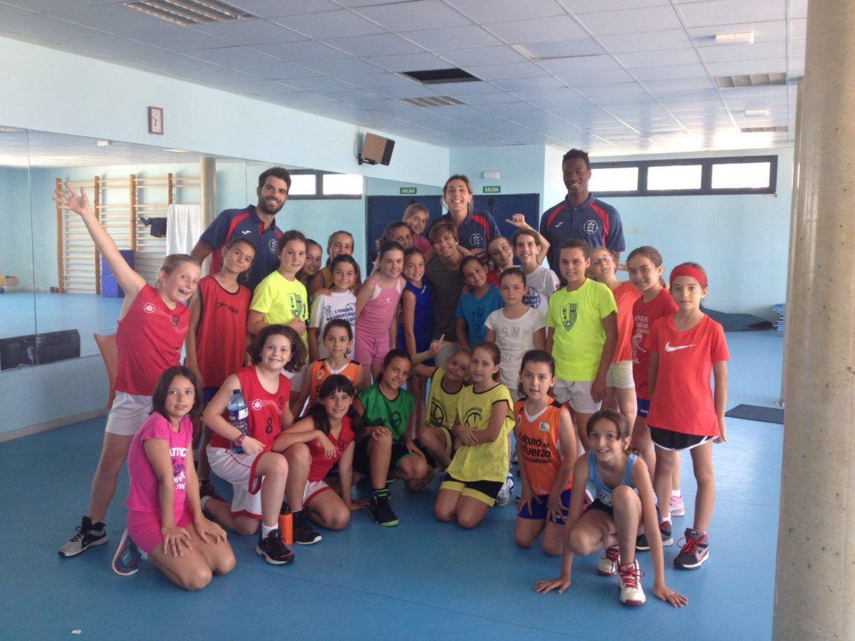 Conociendo el basket con Marina Ferragut