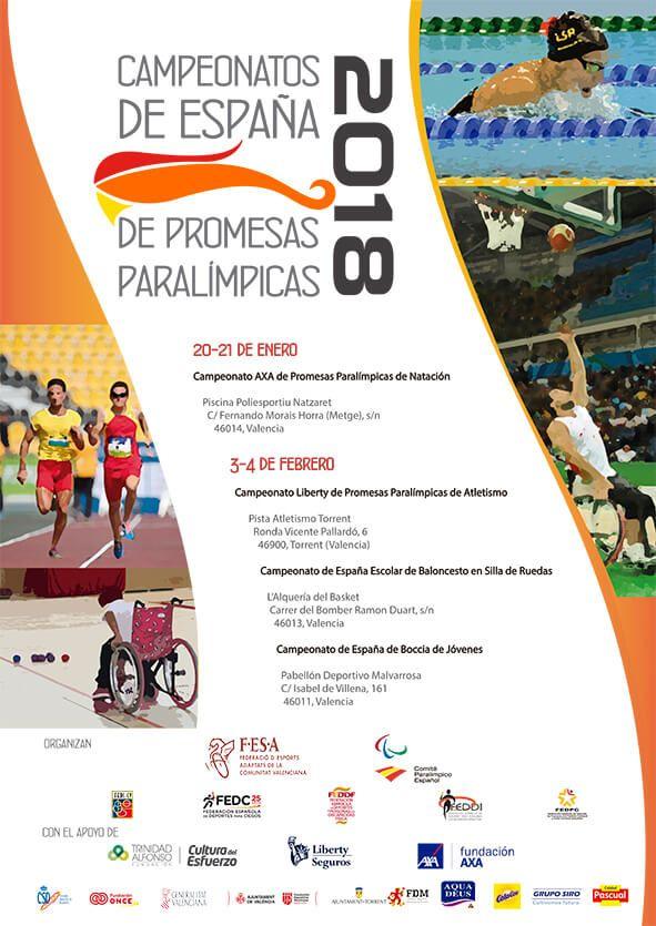 promesas paralímpicas