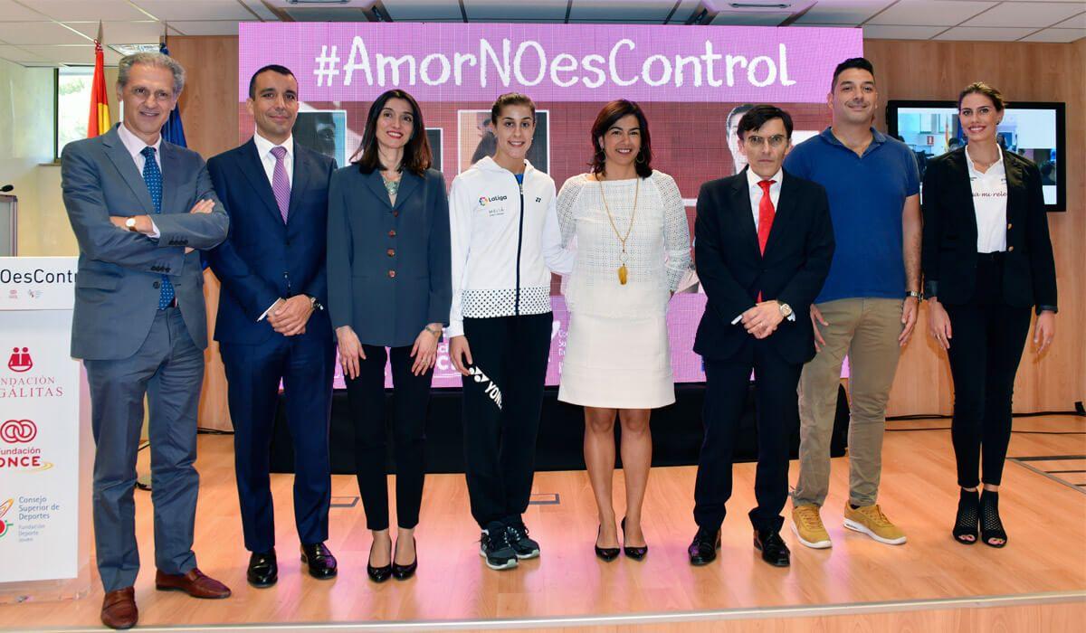 #AmorNoEsControl
