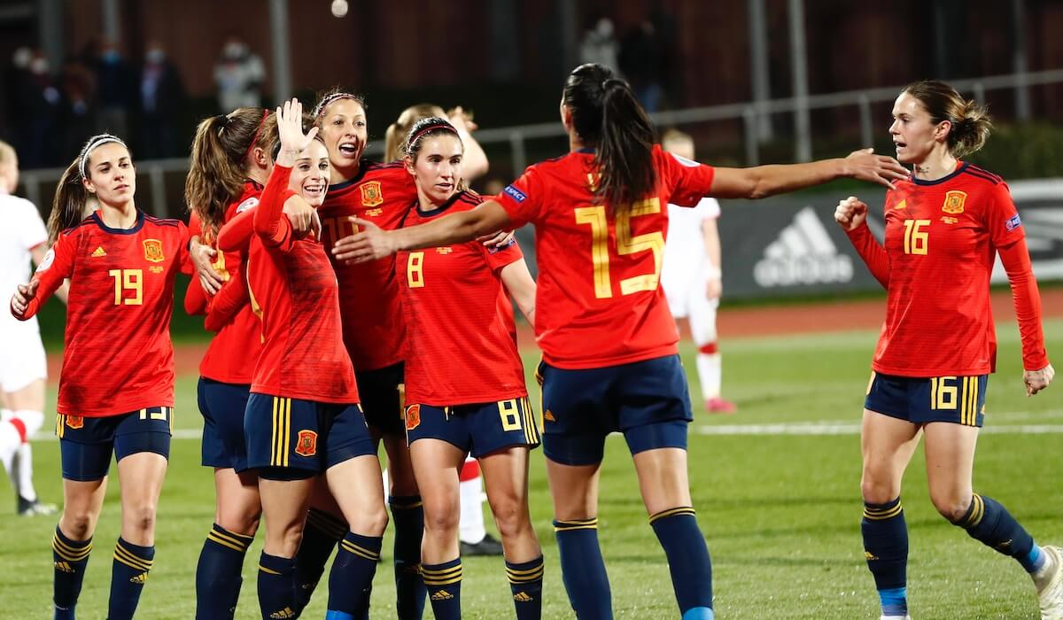 selección española femenina fútbol