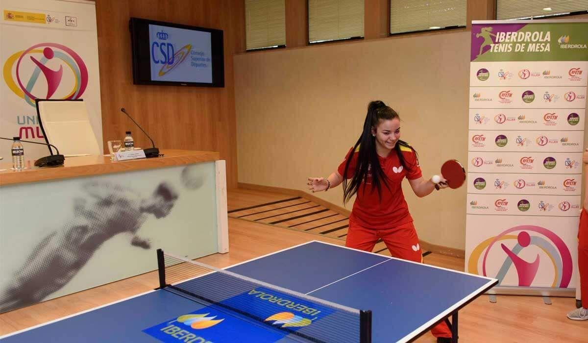 tenis de mesa femenino