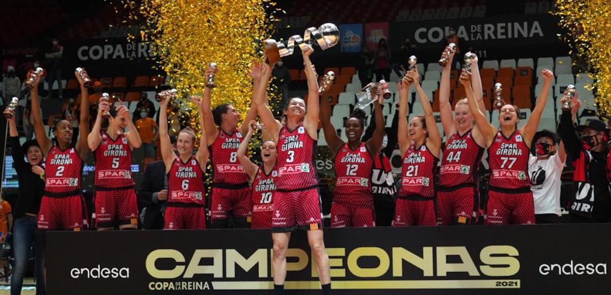 Spar Girona, Copa de la Reina de baloncesto