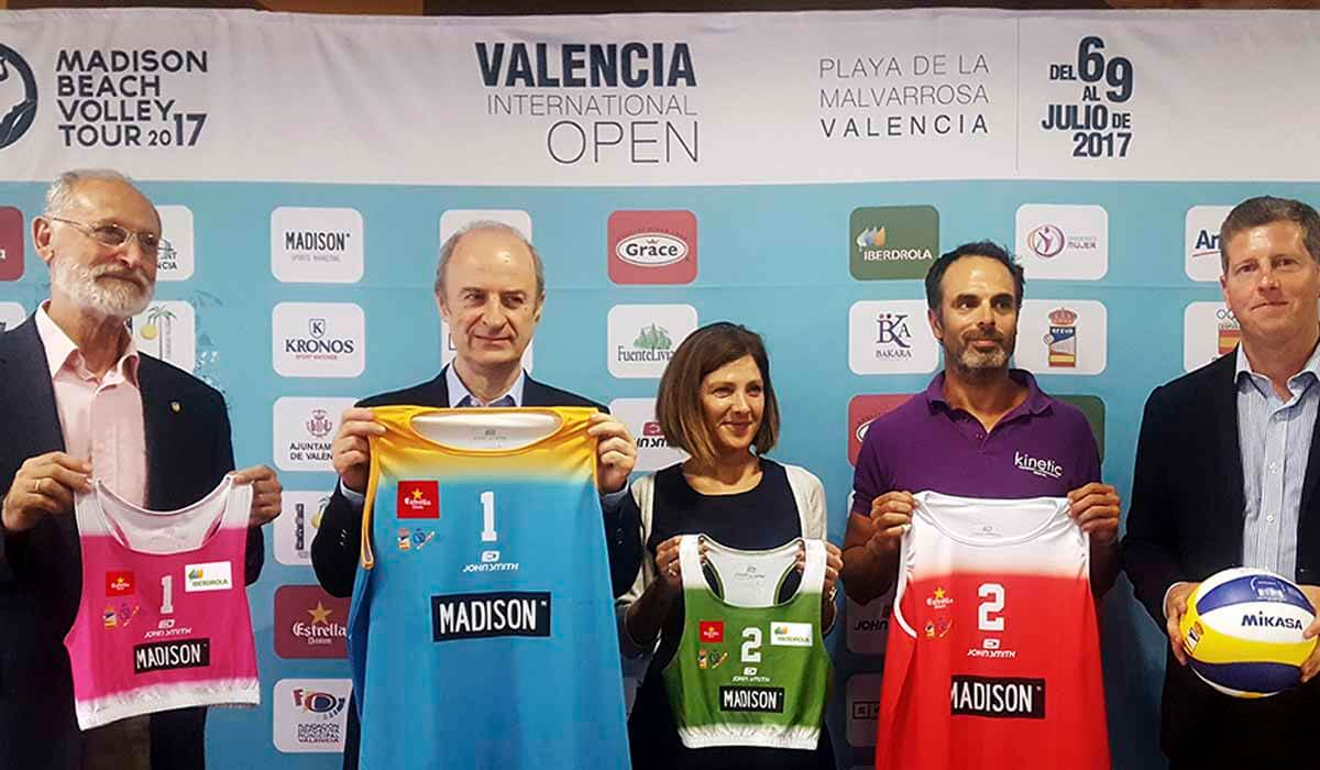 El circuito madison de v ley playa llega a valencia for Madison tenis de mesa