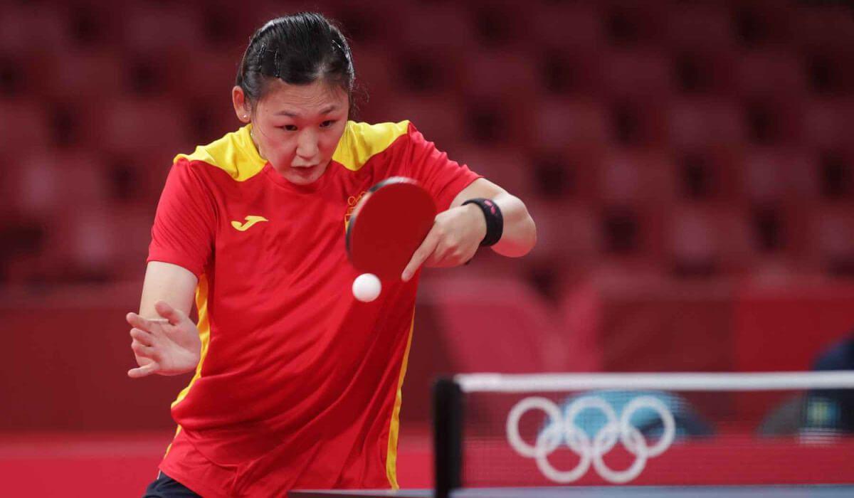 Tenis de mesa, Maria Xiao