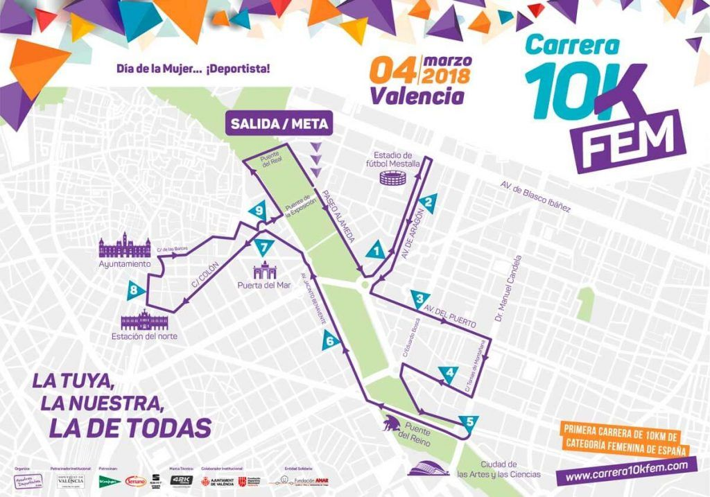 10kfem de Valencia