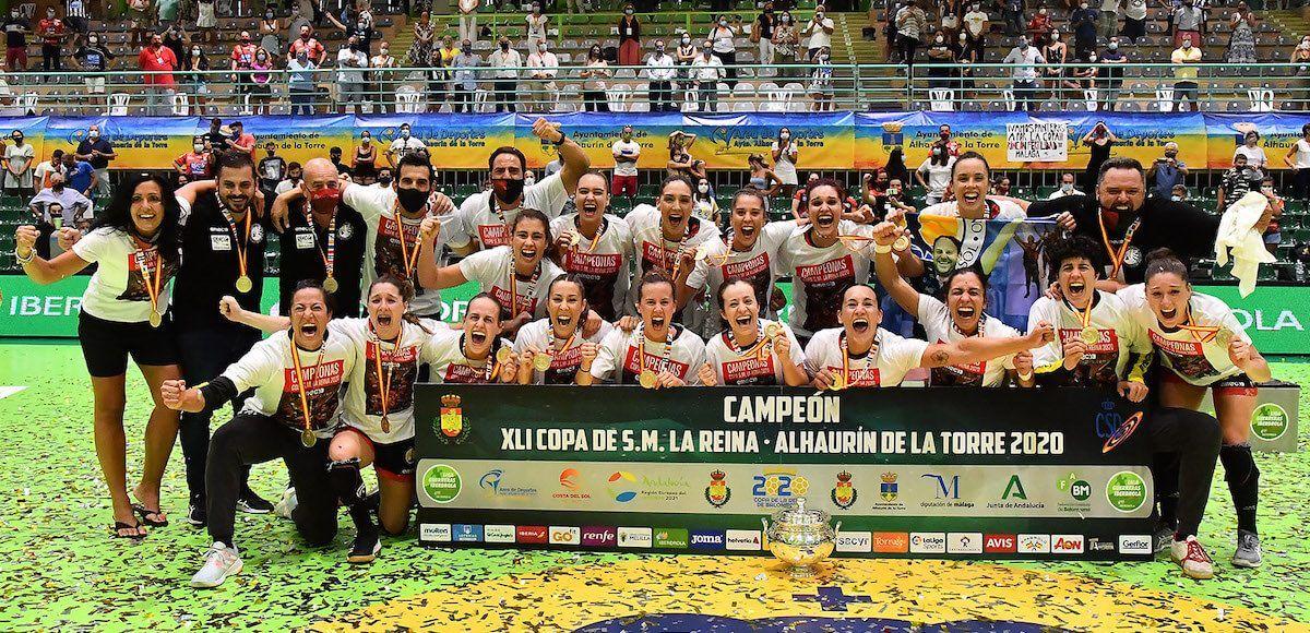 Rincón Fertilidad Málaga, campeonas Copa de la Reina 2020