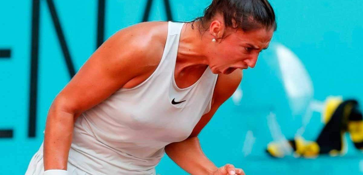 Sara sorribes sorprende a madison keys en el mutua madrid open for Madison tenis de mesa