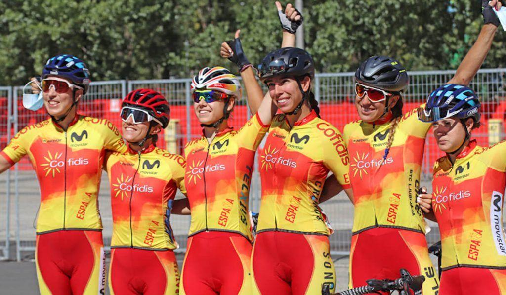 seleccion española femenina ciclismo mundial