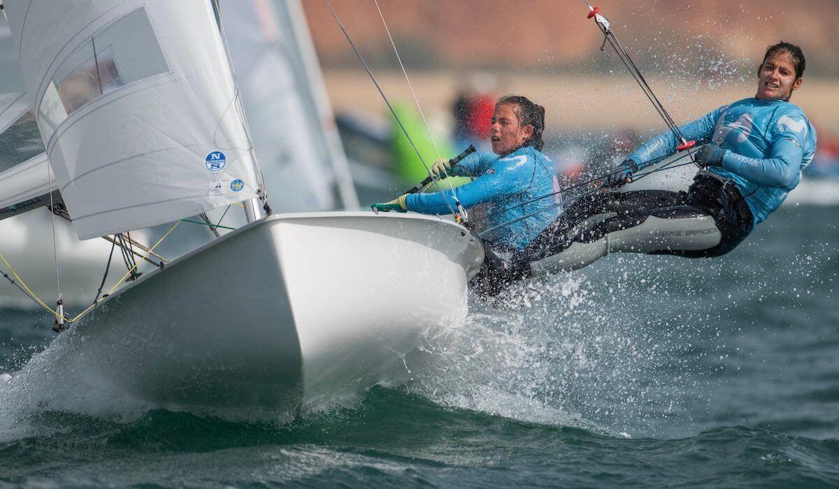 Silvia Mas, Patricia Cantero, vela olímpica