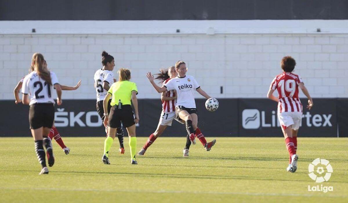 Valencia CF Femenino, Athletic Club, fútbol femenino