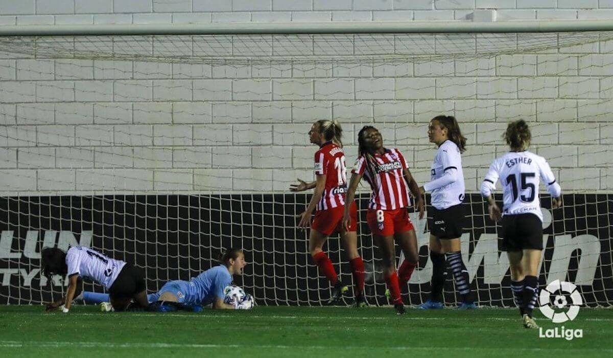 valencia cf, atlético de madrid, primera división femenina de fútbol